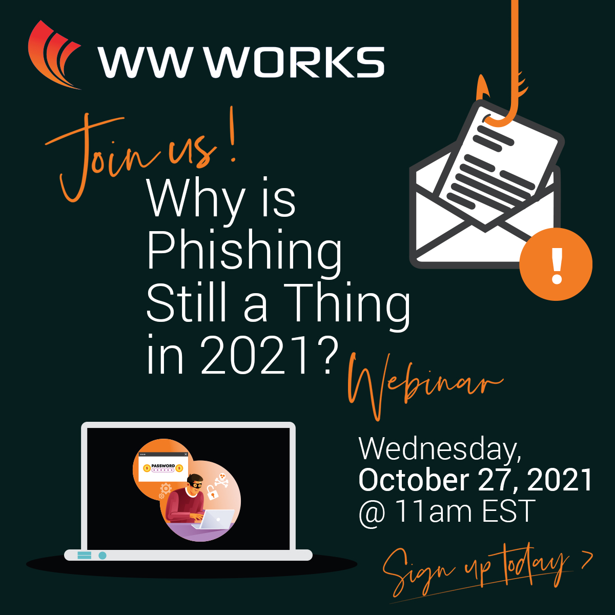 Why is phishing still a thing in 2021? Webinar graphic